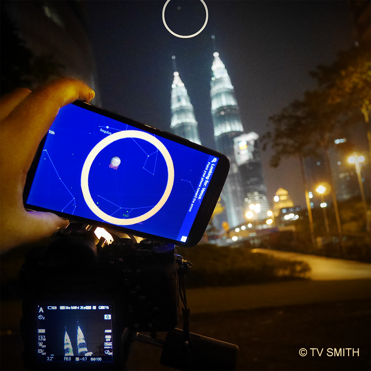 Photographing the Conjunction of Jupiter And Venus in Malaysia