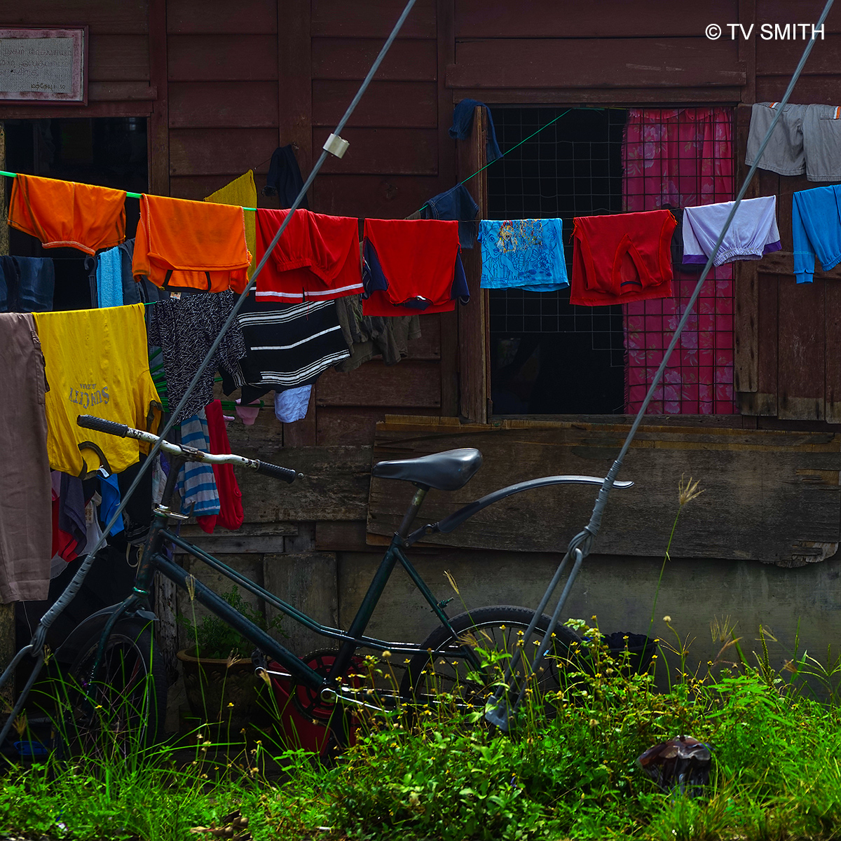 Laundry Day In Slim River