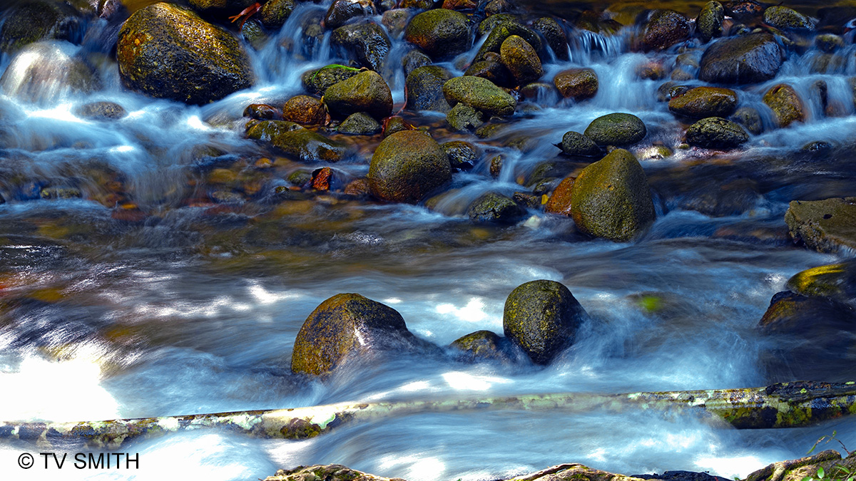 Sungai Bil Waterfalls Air Terjun near Ulu Slim
