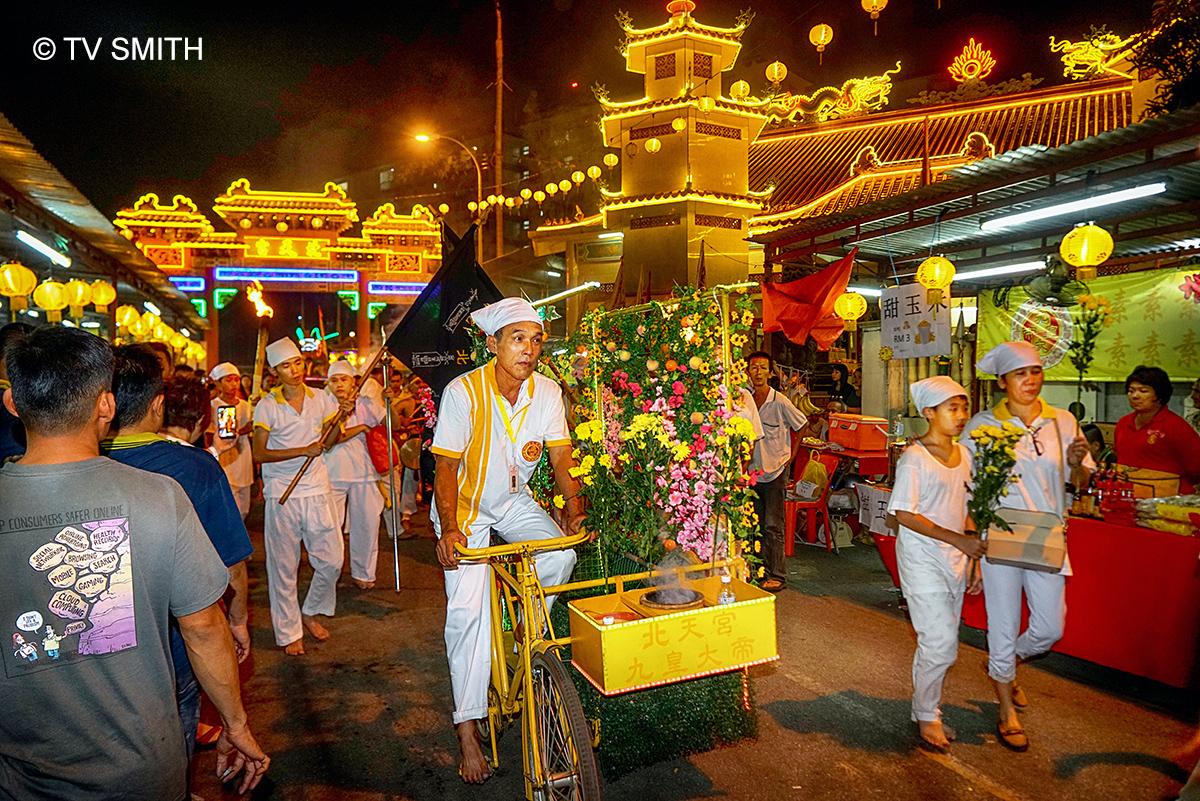Nine Emperor Gods Festival Procession In Jinjang – Part 4