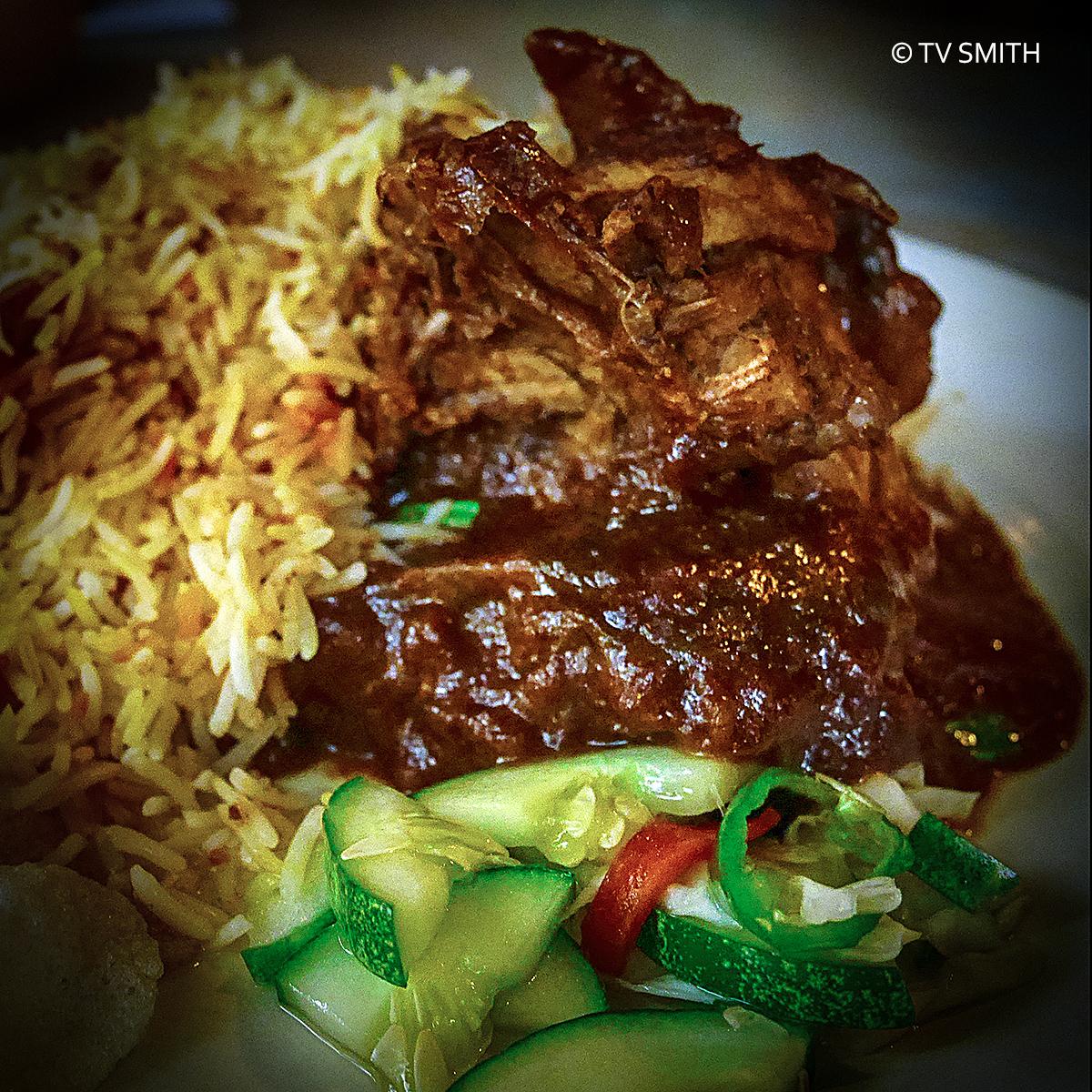 Chicken At Kafe Beriani Gam Putrajaya
