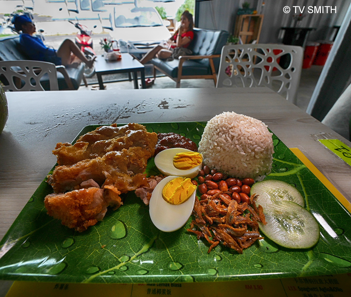 Nasi Lemak At Hotel Farm Ville