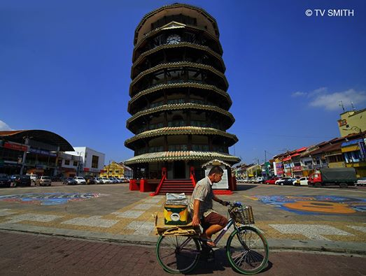 The Leaning Tower Of Teluk Intan.