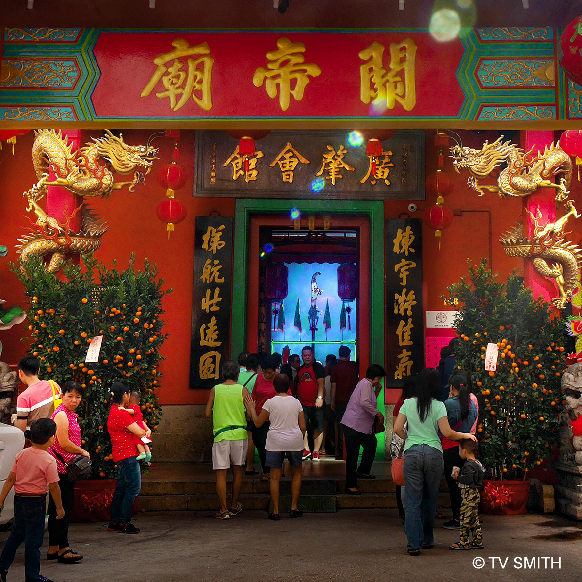 Smoky Inside – The Guandi Temple In KL Chinatown