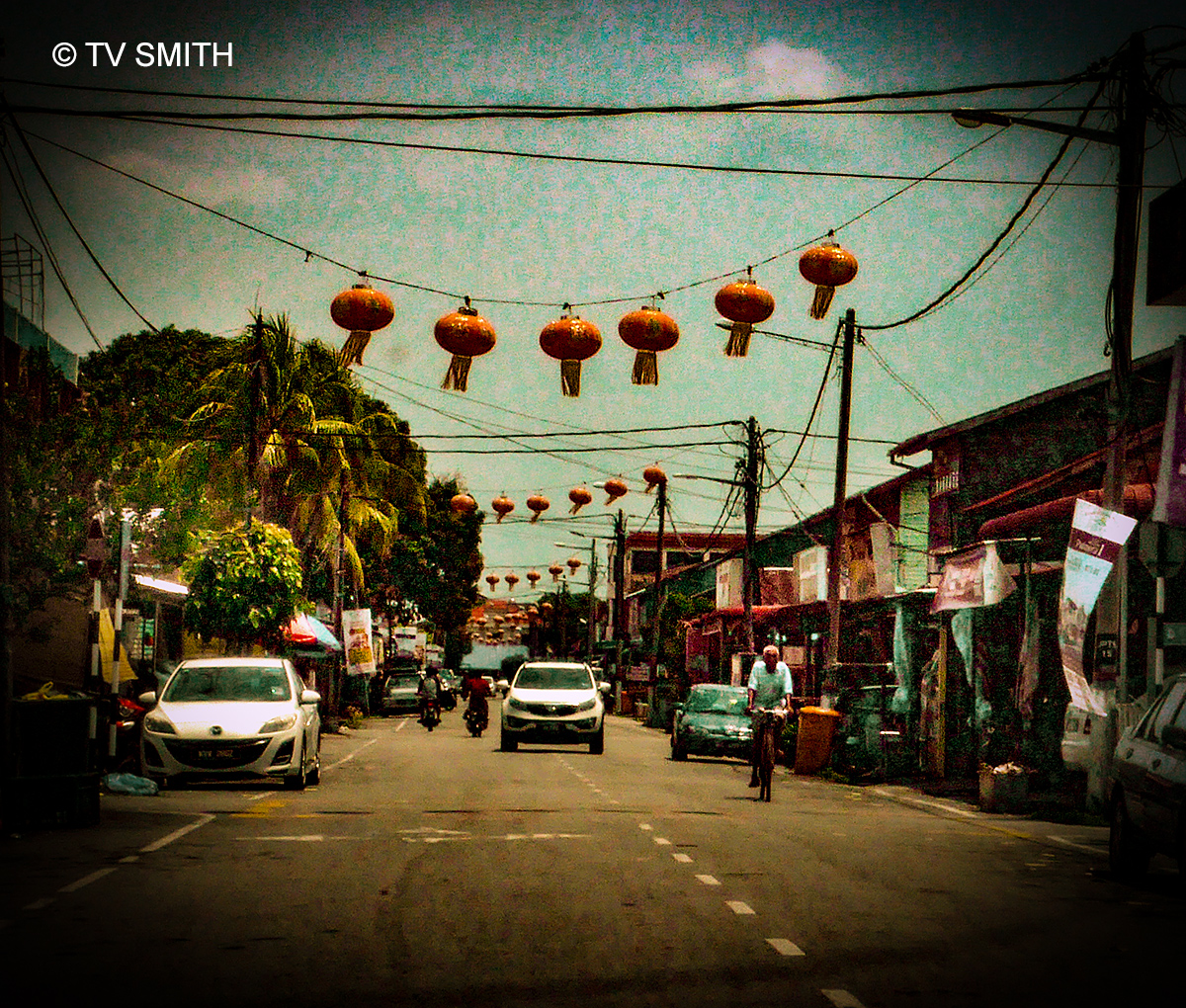 Generic Main Street, Fishing Village.