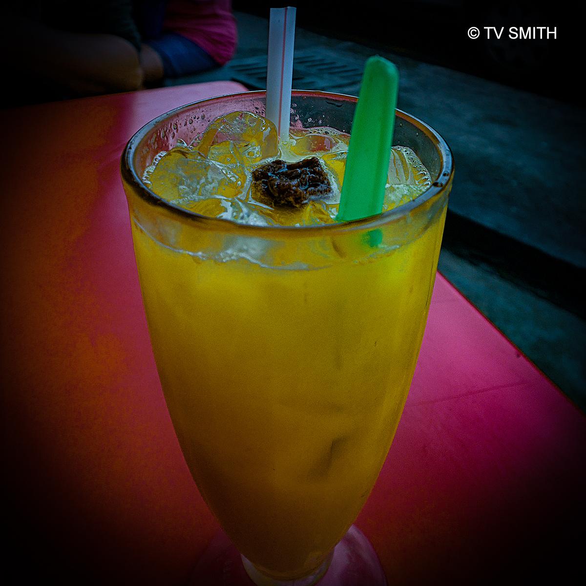 Calamansi Juice With Sour Plums