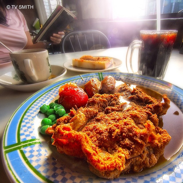 Hua Mui's Hainanese Chicken Chop In JB
