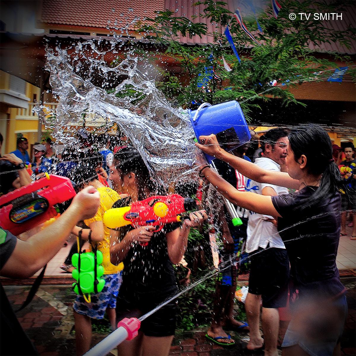 Songkran Water Splash
