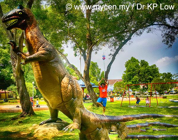 Chiselled Stone, A Yogi Gynecologist And A Dinosaur.