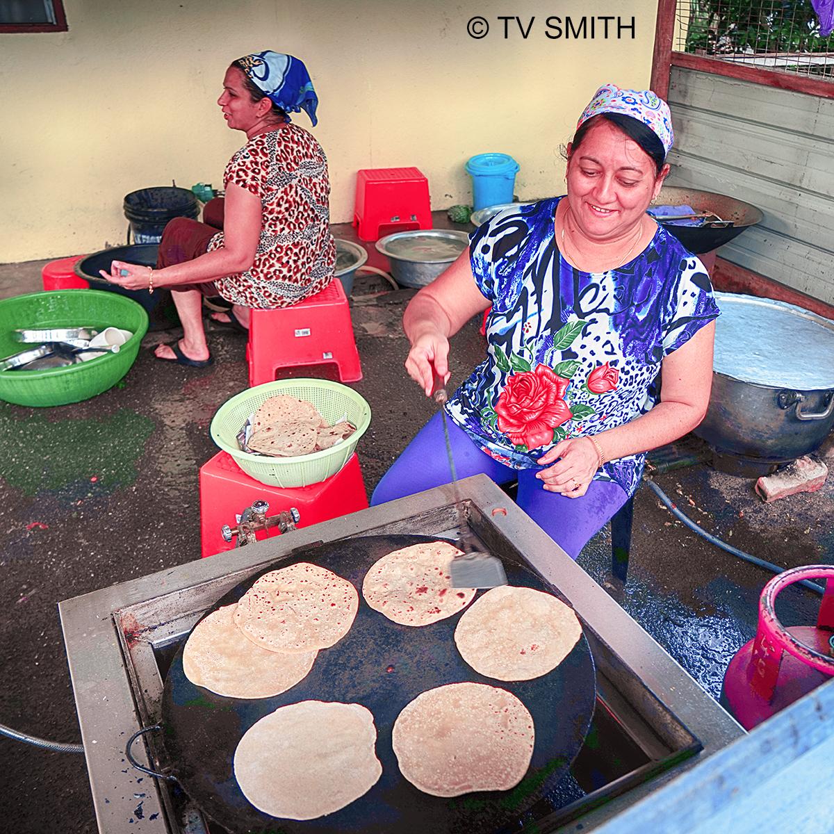 Chapati In Kalumpang