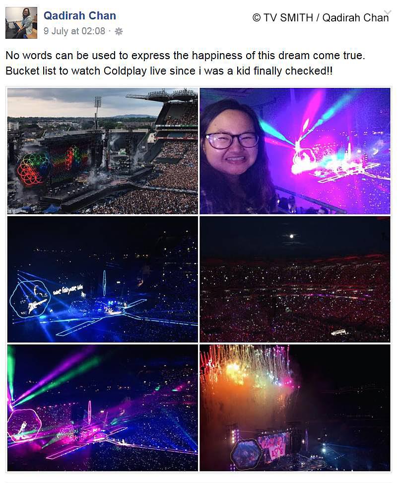 Coldplay: A Head Full of Dream Tour – Croke Park, Dublin, Ireland.