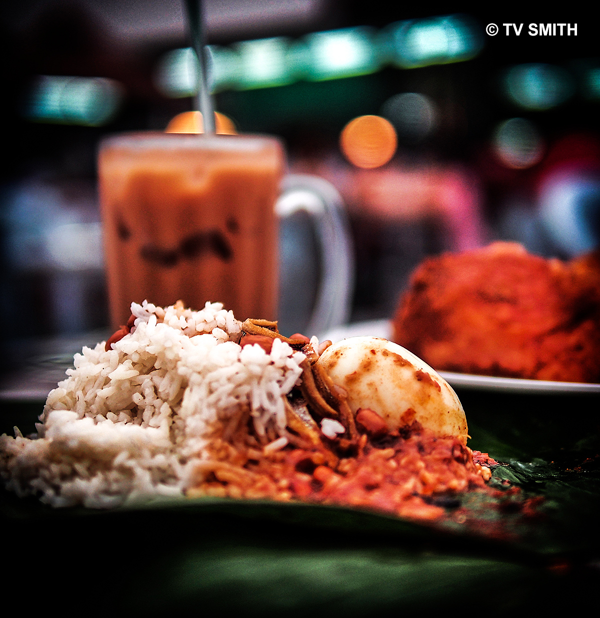 Another View Of Shanmuga's Nasi Lemak