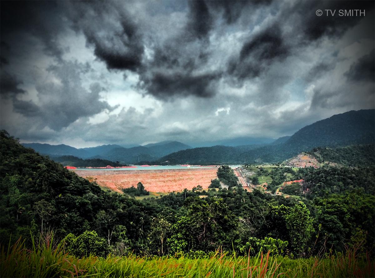 The Sungai Selangor Dam